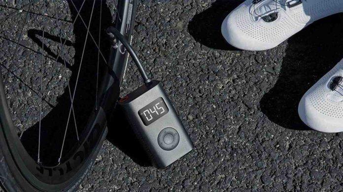 Mini compressore elettrico per biciclette Xiaomi Mijia in sconto a soli 36 Euro