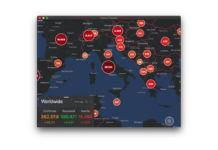 Coronavirus, un'app Mac e iOS per seguire la pandemia