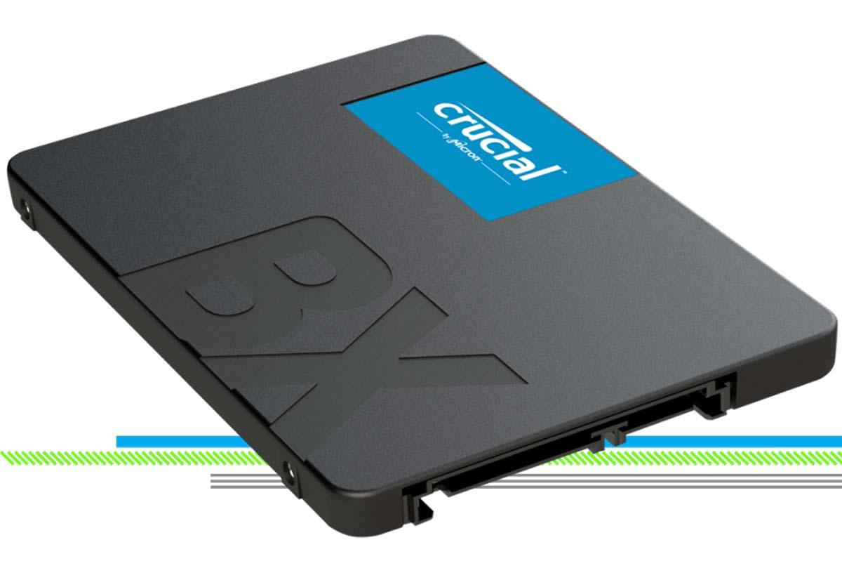Unità SSD Crucial BX500, ora disponibile anche nella variante da 2TB