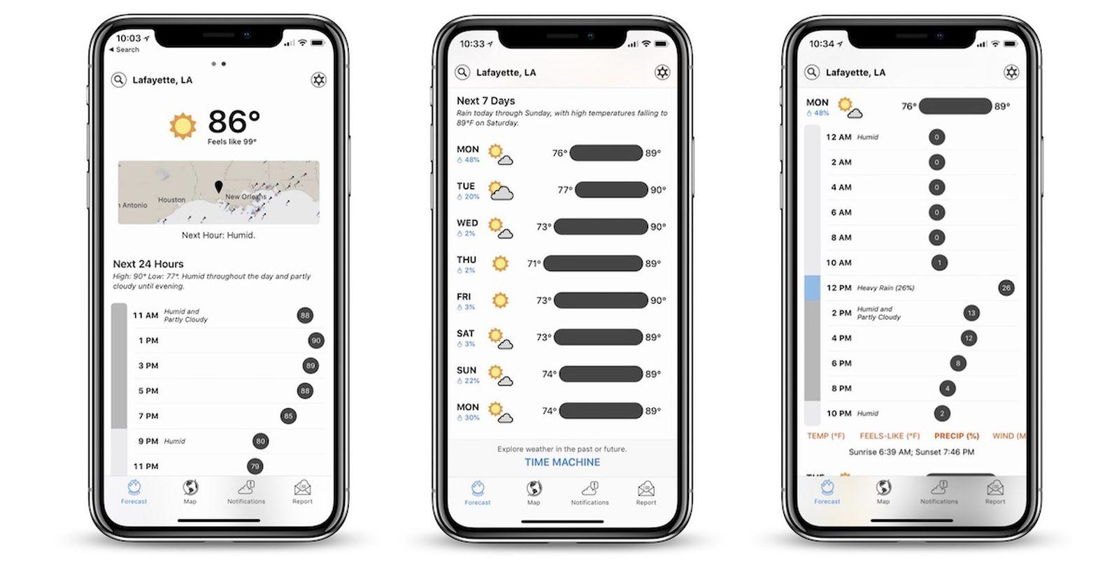 Apple ha comprato l'app di meteorologia Dark Sky