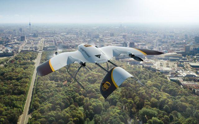 UPS sta sviluppando droni di consegna più silenziosi e versatili