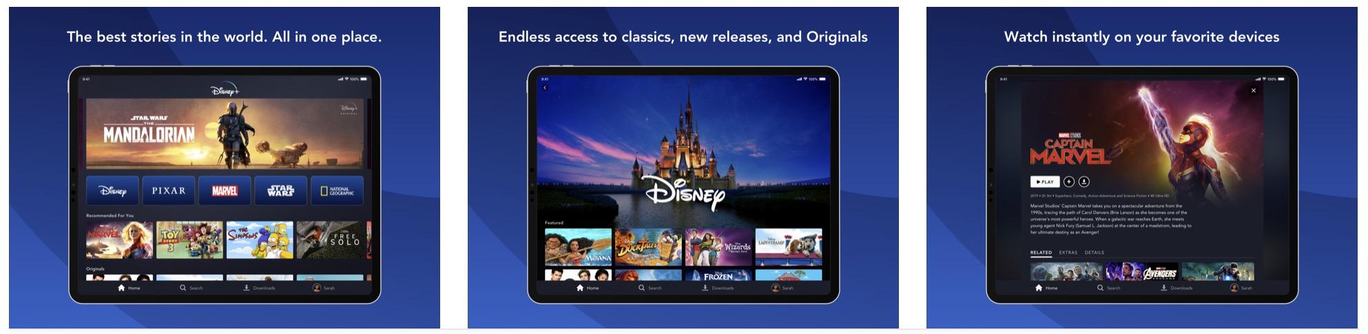 come vedere Disney+