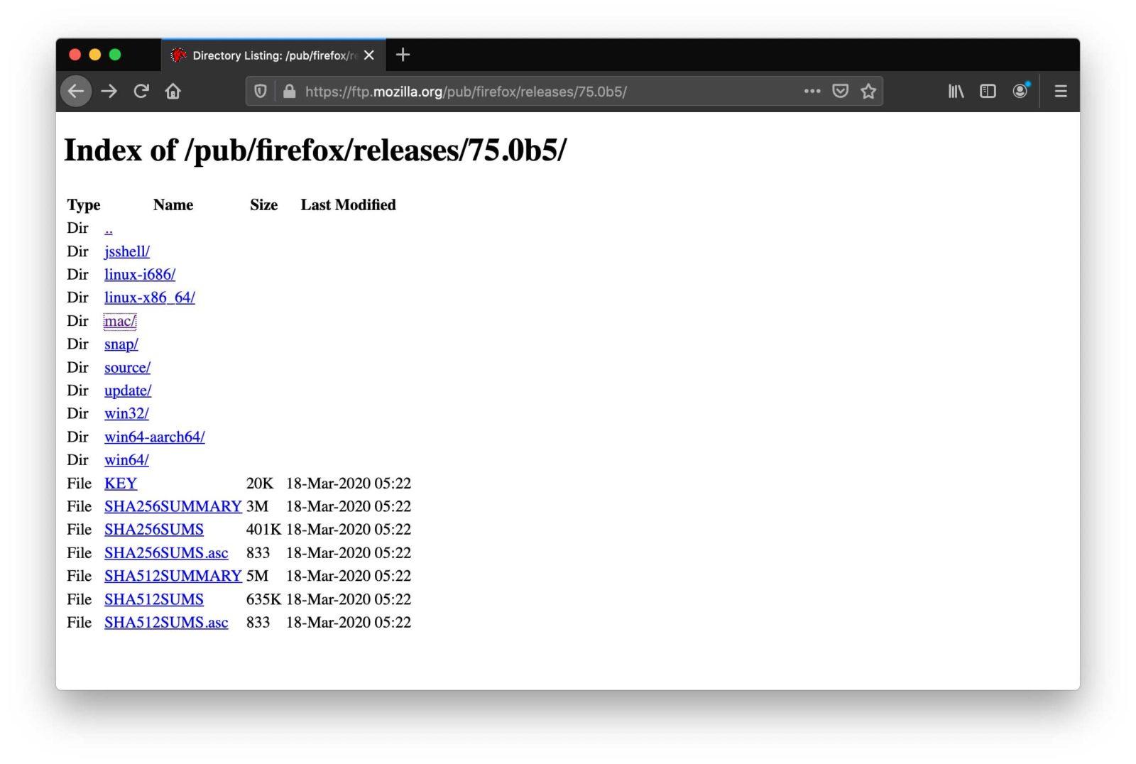 Mozilla eliminerà il supporto al protocollo FTP da Firefox