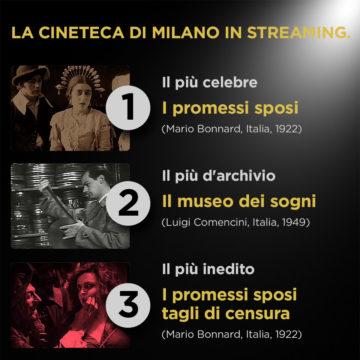 Oltre 500 film rari gratis in streaming grazie alla Fondazione Cineteca Italiana