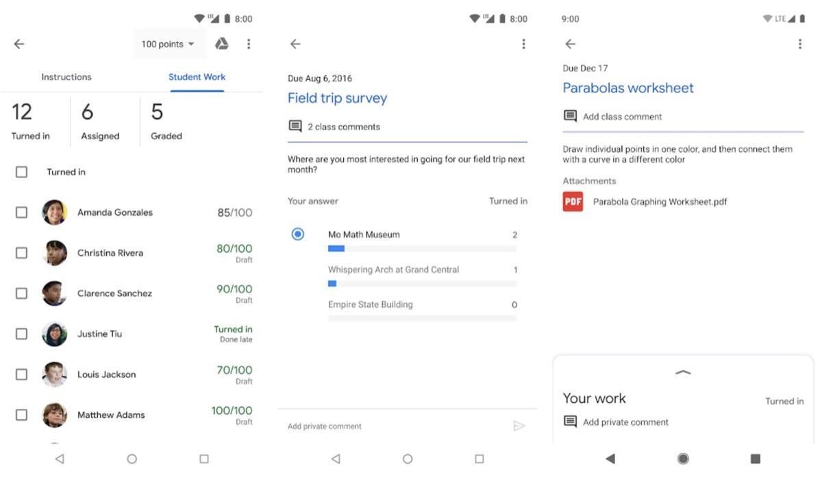 Google Classroom, l'app che mette in contatto studenti e insegnanti