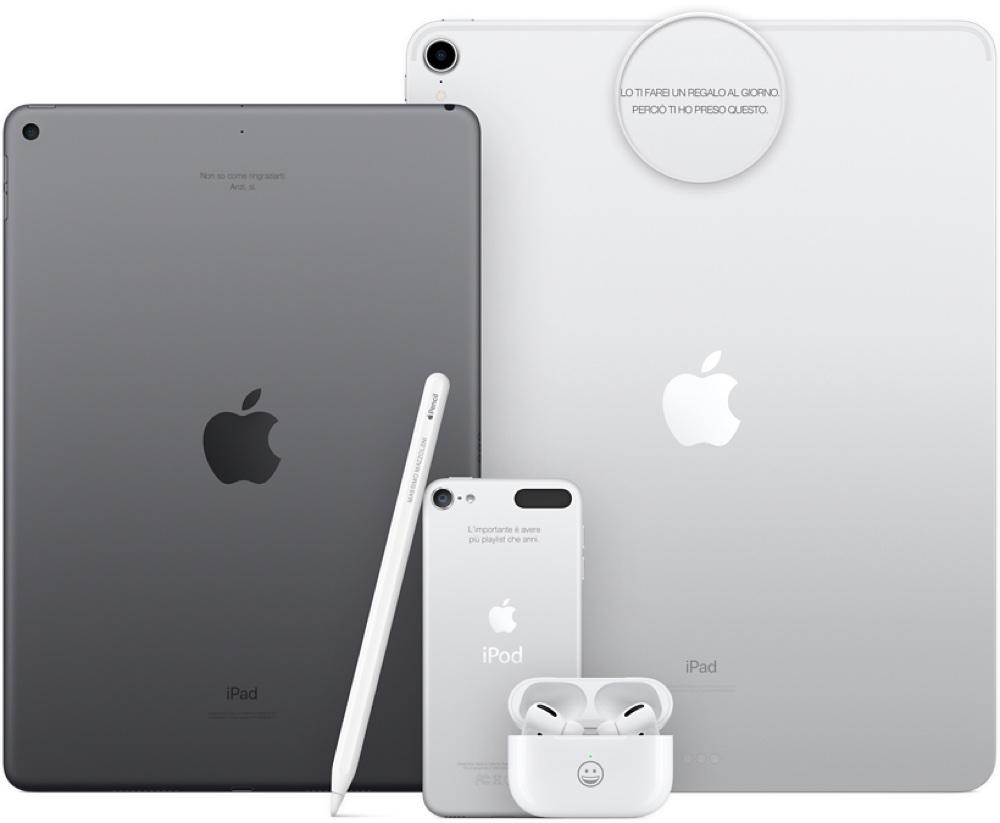 Apple non effettua più l'incisione laser sugli iPod sostitutivi