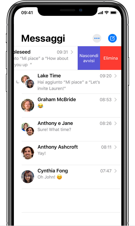 In iOS 14 e macOS 10.16 varie novità per l'app Messaggi