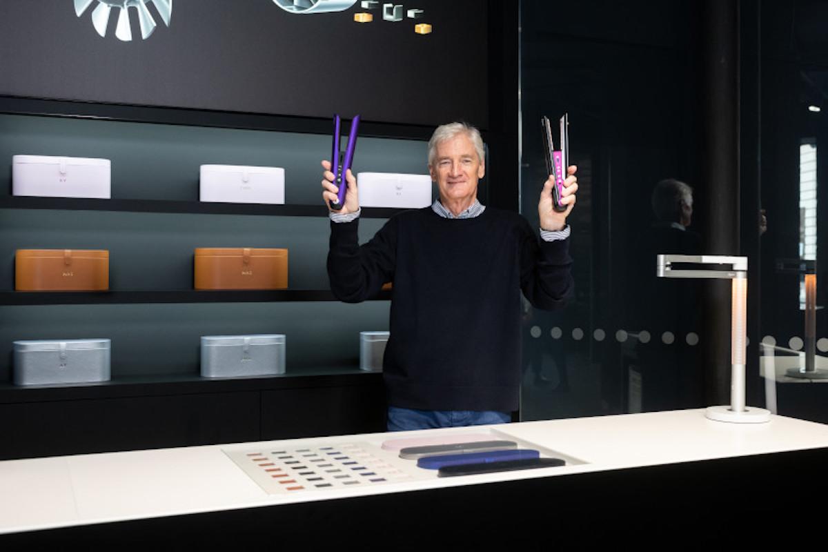 Arriva Dyson Corrale, la prima piastra per capelli hi-tech con lamine flessibili