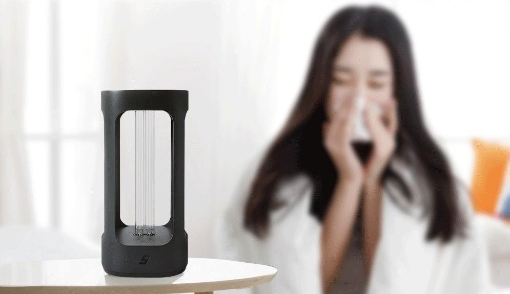 Lampada sterilizzante da casa smart con tecnologia Philips da Xiaomi youpin in offerta
