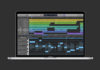 Sul sito web di Apple la schermata di una versione di Logic Pro X con i Live Loops