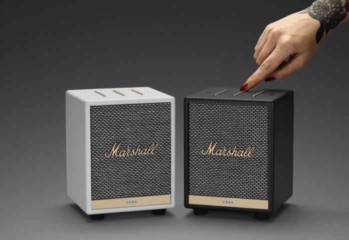 Marshall Uxbridge Voice è il piccolo speaker che fonde potenza e funzioni smart