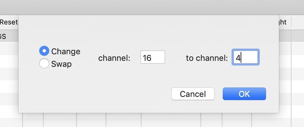 Midikit 4.5 compatibile con Catalina ora permette lo scambio di canale nelle basi Midi