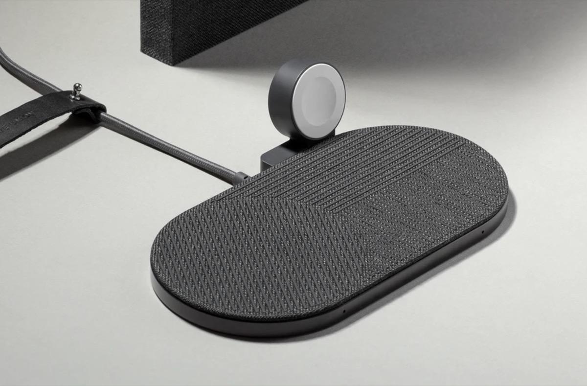Drop XL di Native Union ricarica senza fili iPhone, AirPods ed Apple Watch insieme