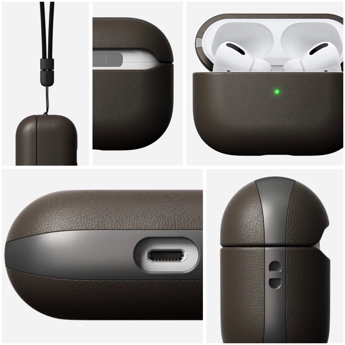 nomad active rugged custodia airpods pro
