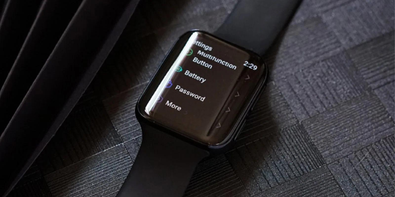 Oppo Watch, ufficiale il clone di Apple Watch