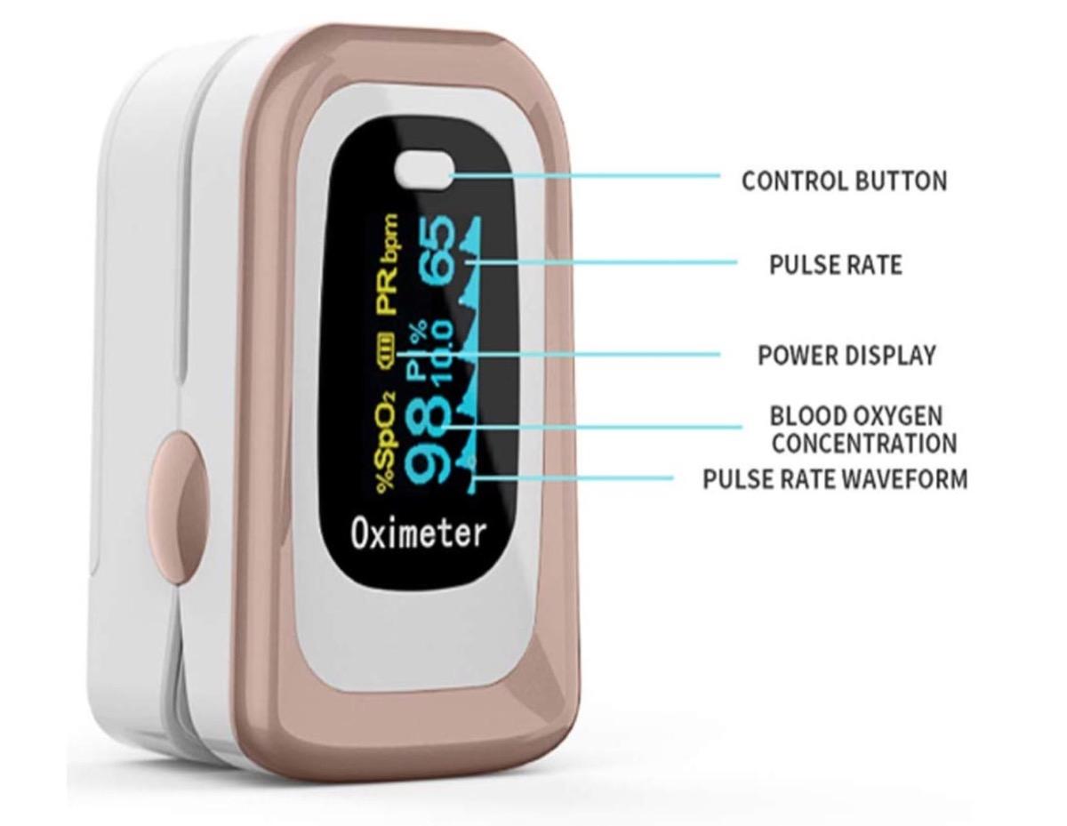 Tenete d'occhio l'attività respiratoria con il saturimetro: su Amazon da 13 euro