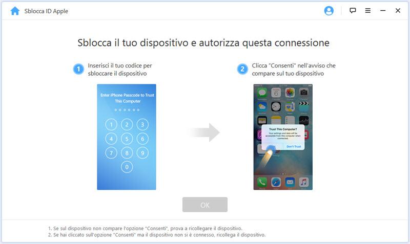 iMyFone LockWiper, ecco come sbloccare l'Apple ID senza password