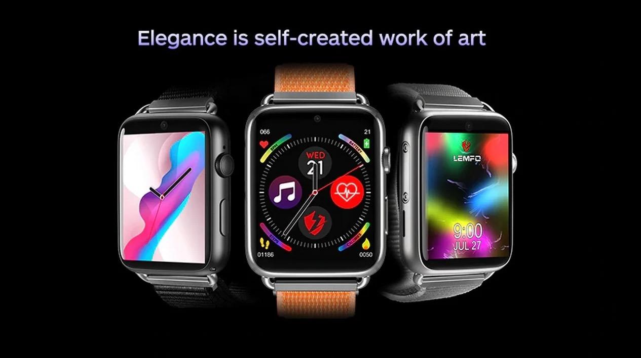 LEMFO LEM10, un buon clone Apple Watch con tanto di scheda Sim in offerta a 117 euro