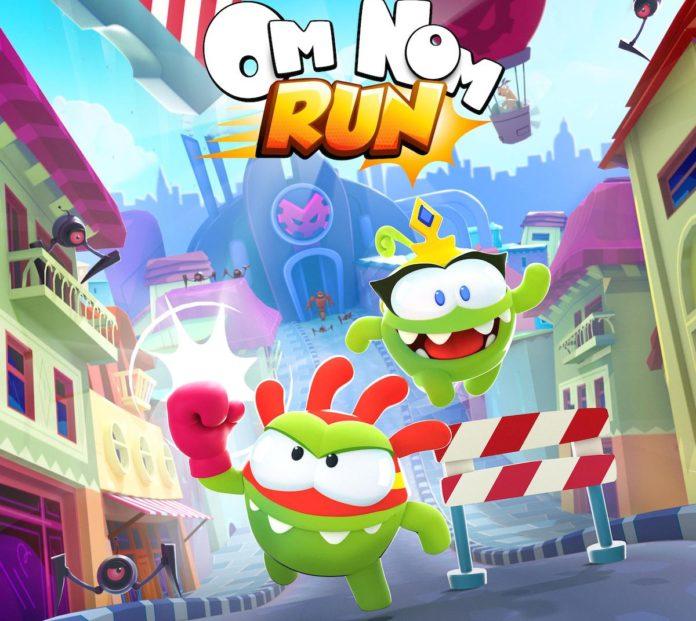 Om Nom: Run, il ritorno di un'icona in un runner gratuito per iPhone e iPad