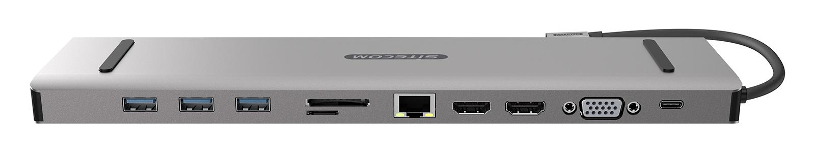 Sitecom USB-C Multiport Pro Dock, il dock elegante e utile per MacBook Pro