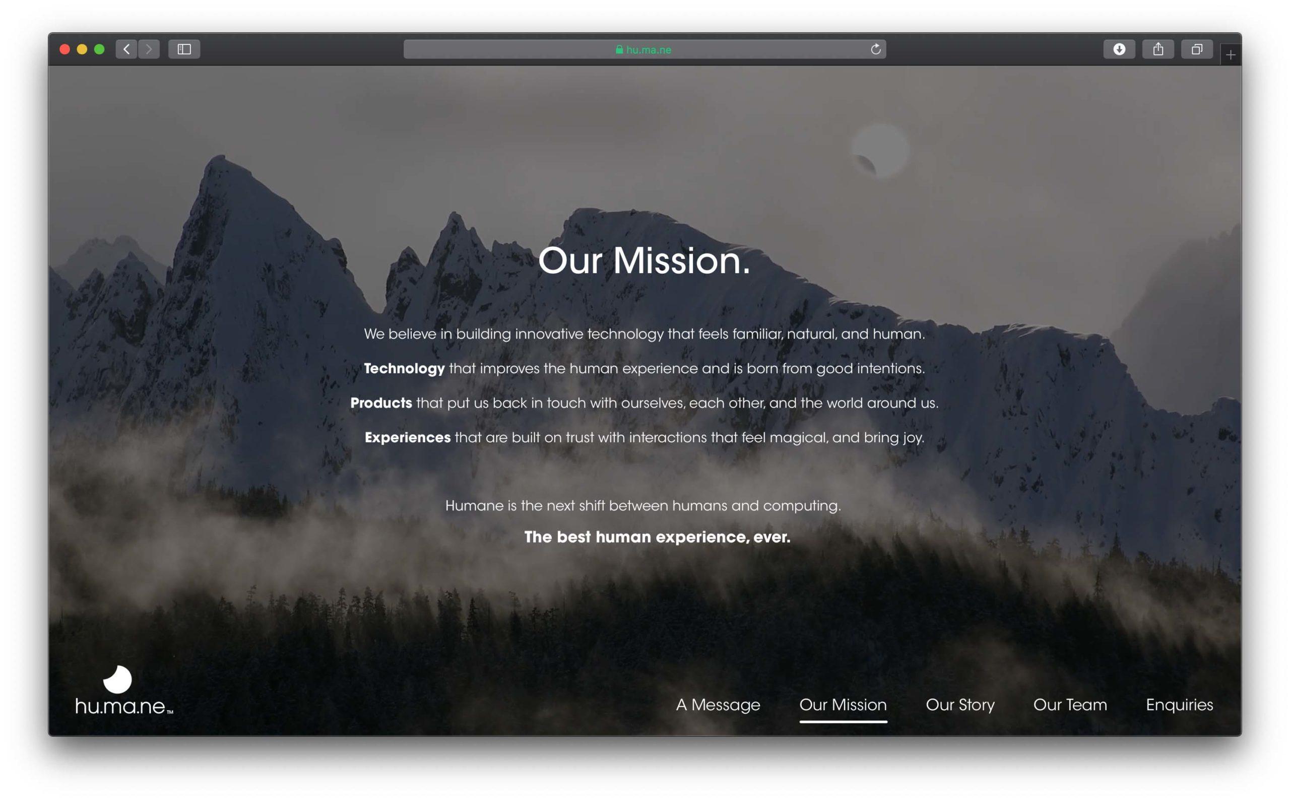 """L'ex uomo di Apple che si occupava di tecnologie wireless nella misteriosa startup """"Humane"""""""