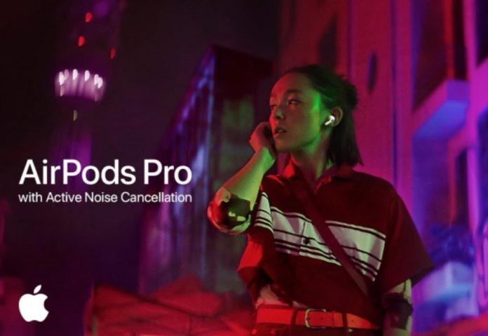 Gli AirPods Pro e la magia della cancellazione del rumore nello spot Snap