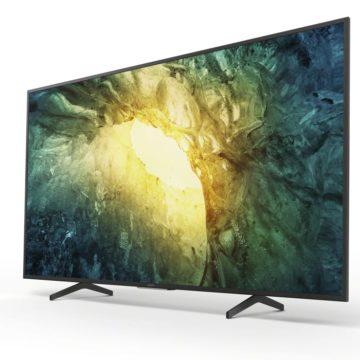 I nuovi TV LCD 4K Sony XH81, XH80 e X70 disponibili in Italia