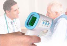 Termometro a infrarossi senza contatto per misurare la febbre: in offerta a 48 euro
