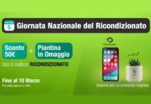 5 Marzo – Giornata Nazionale del Ricondizionato. Su TrenDevice Sconto 50€ e doppio regalo: per voi e per l'ambiente