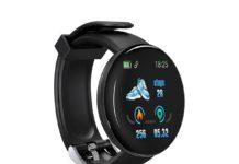 D18, lo smartwatch che costa meno di 10 euro