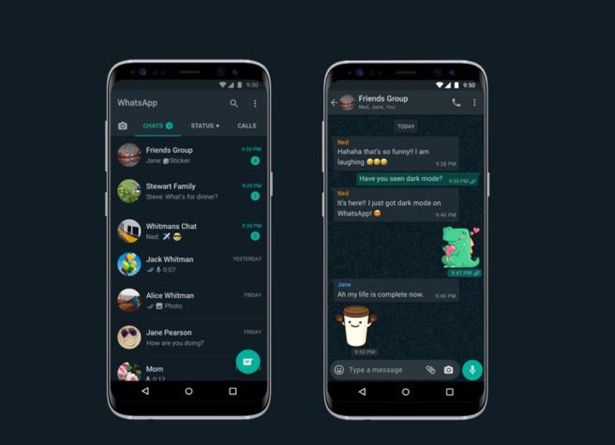WhatsApp con modalità dark è disponibile su iPhone e Android