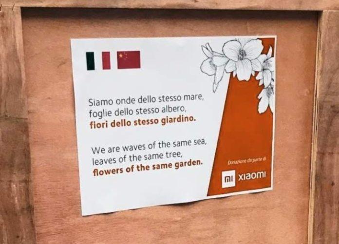 Xiaomi dono un secondo lotto di mascherine alla Protezione Civile della Lombardia