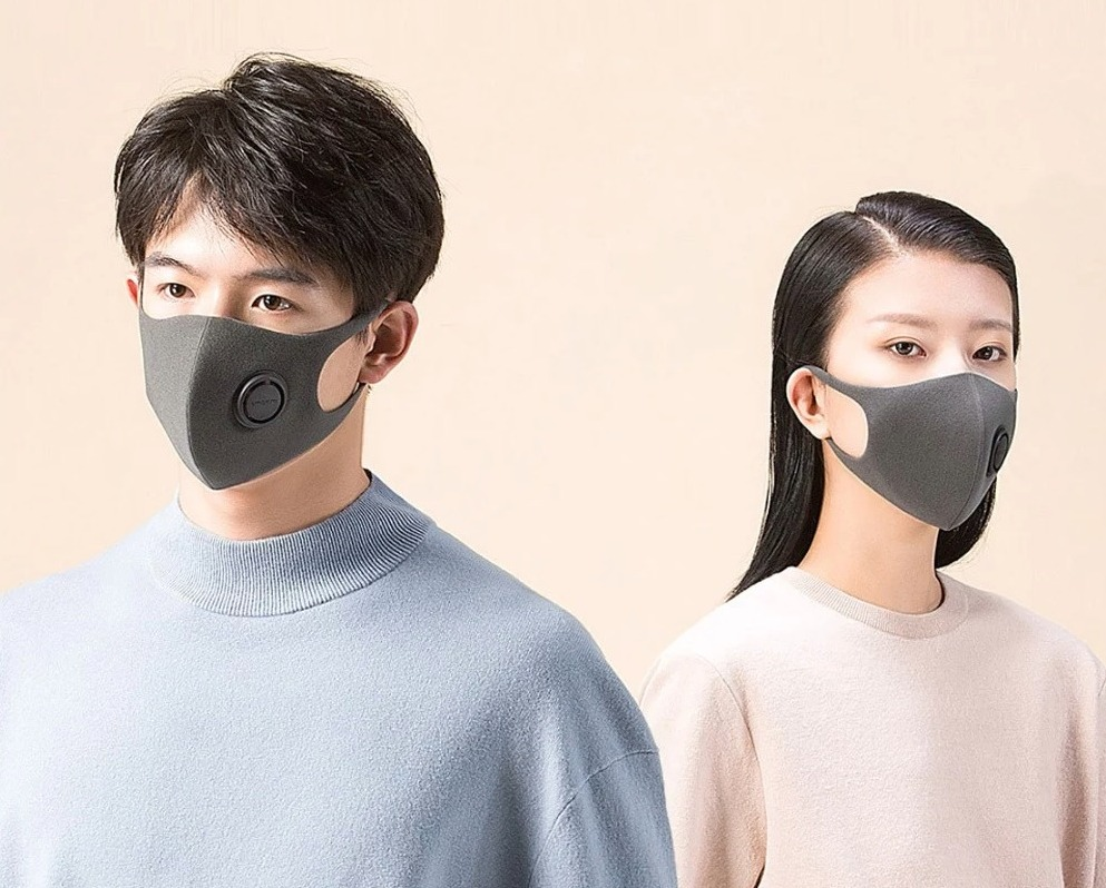 Mascherina Xiaomi Smartmi anti inquinamento per pm 2.5 in offerta a soli 6 euro