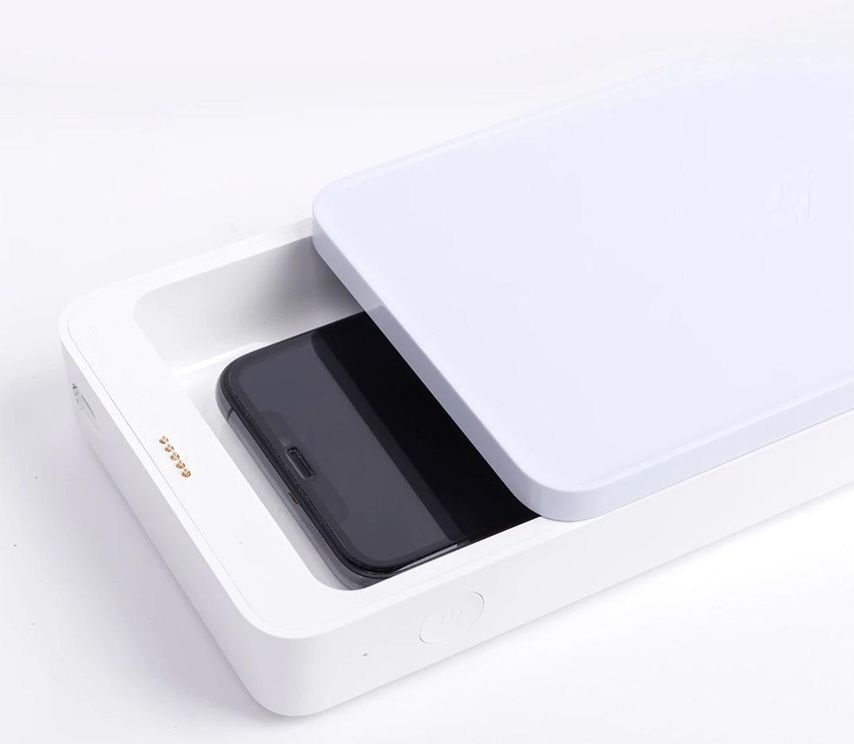 Caricatore wireless Xiaomi youpin: carica, disinfetta e sterilizza lo smartphone