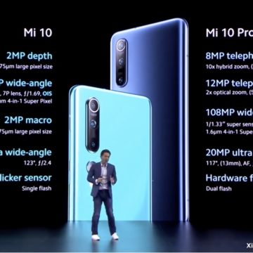 Xiaomi Mi 10, Mi 10 Pro e Mi 10 Lite ufficiali, dal 7 aprile in Italia da 349 euro