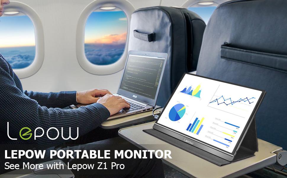 Lepow Z1 è il monitor esterno Full HD da 15,6
