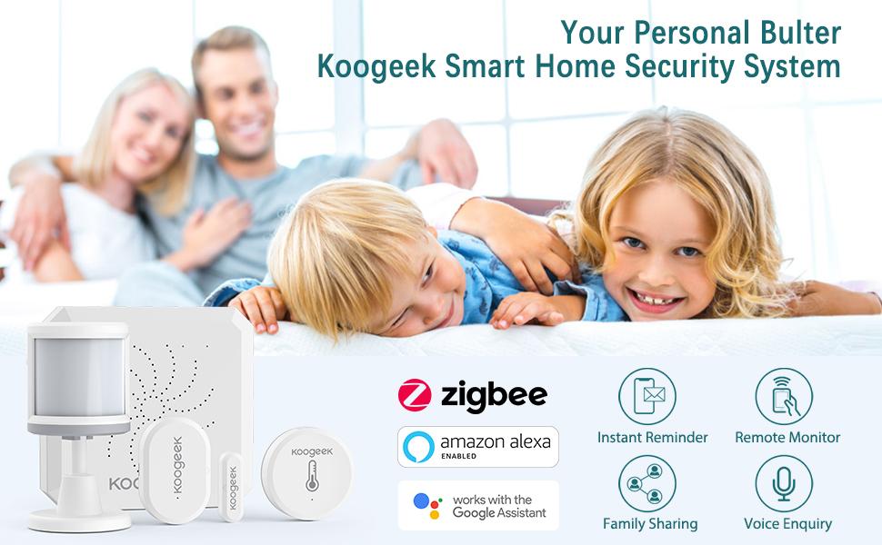 Da Koogeek il sistema di sicurezza completo per una casa smart