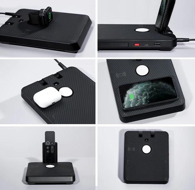Air Omni, la base di ricarica 6-in-1 per tutti i dispositivi Apple e Android a prezzo lancio su Kickstarter