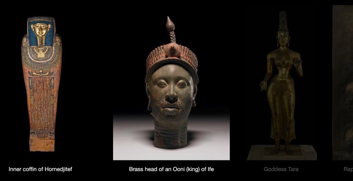 British Museum online , porte (virtuali) aperte: online più della metà della collezione