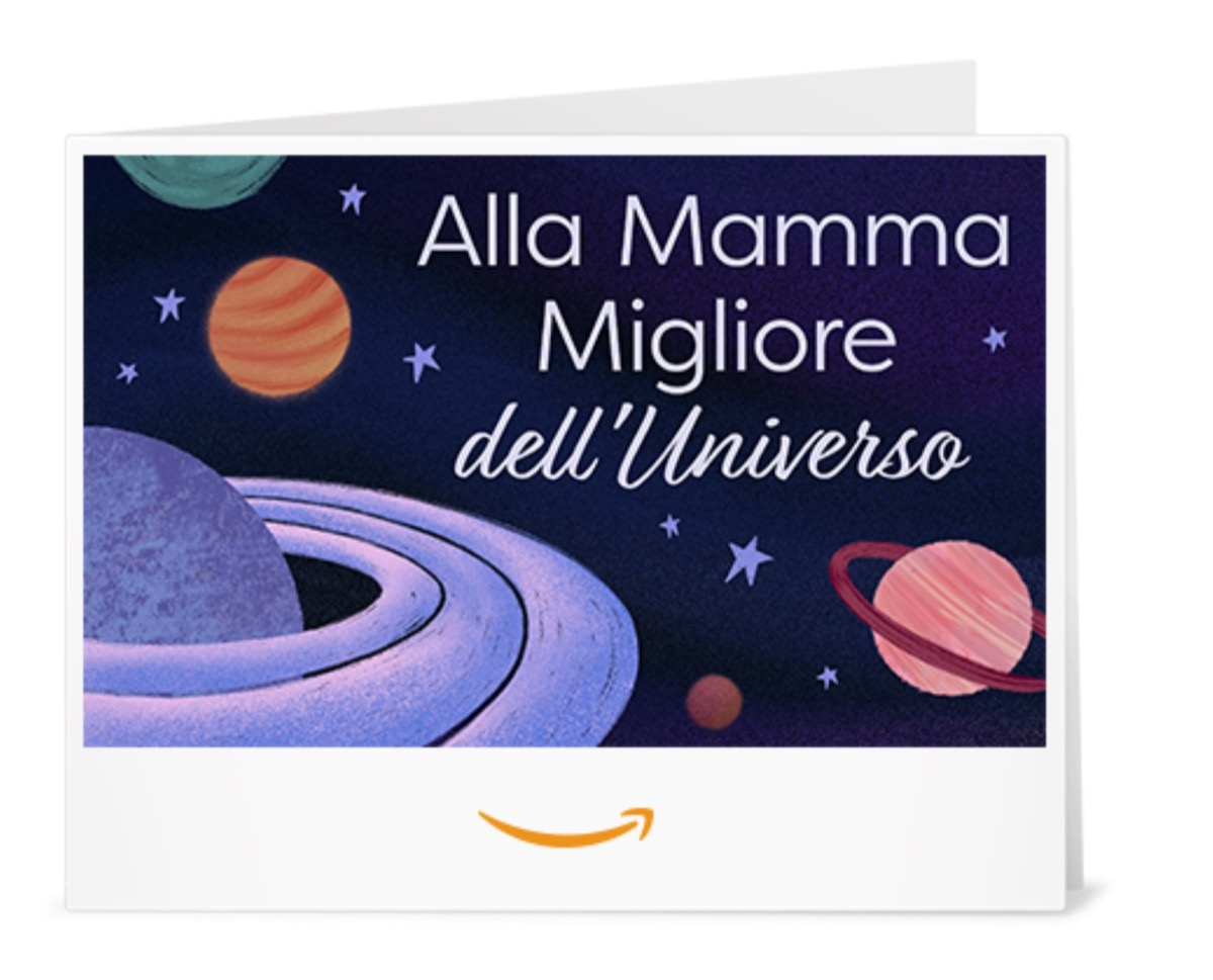 Festa della Mamma 2020, andate sul sicuro coi buoni regalo Amazon a tema