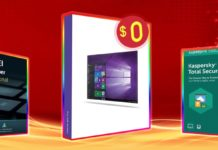 Windows 10 Pro in licenza gratis comprando uno dei software in sconto fino al 60%