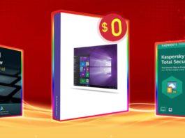 Windows 10 Pro in licenza gratis comprando uno dei software in sconto fino al 60%