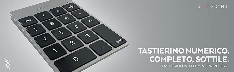 Satechi mette il tastierino numerico sui Macbook