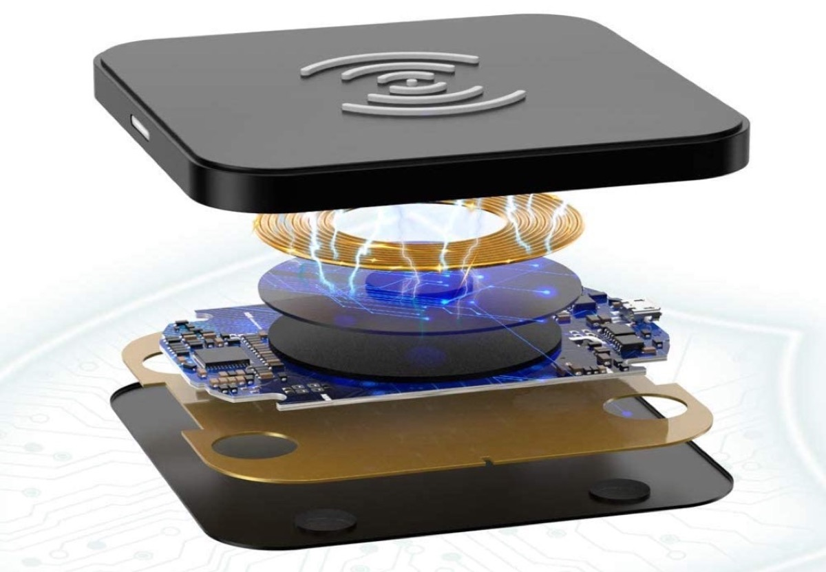 Caricatore wireless da tavolo di Choetech in sconto a soli 9,09 euro