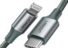 Cavo USB-C Lightning con guaina in nylon in sconto a soli 11,99 euro