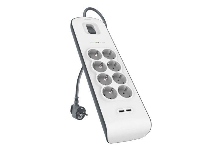 Sconto su ciabatta filtrata Belkin: proteggete fino a otto dispositivi dalle sovracorrenti