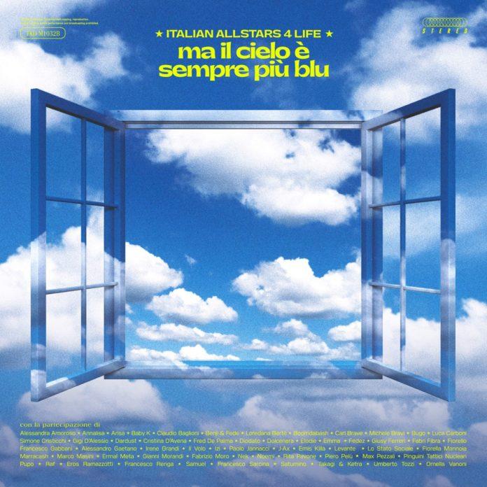 """Lotta al coronavirus, """"Ma il cielo è sempre più blu"""" è la nuova """"We are the World"""""""