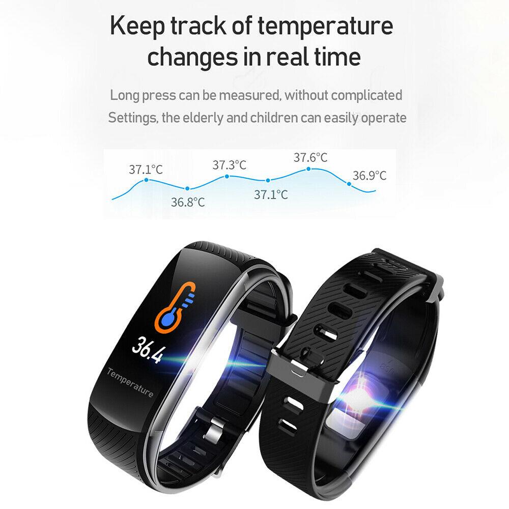 C6T la smart band che misura anche la temperatura corporea in offerta a 14.99 euro