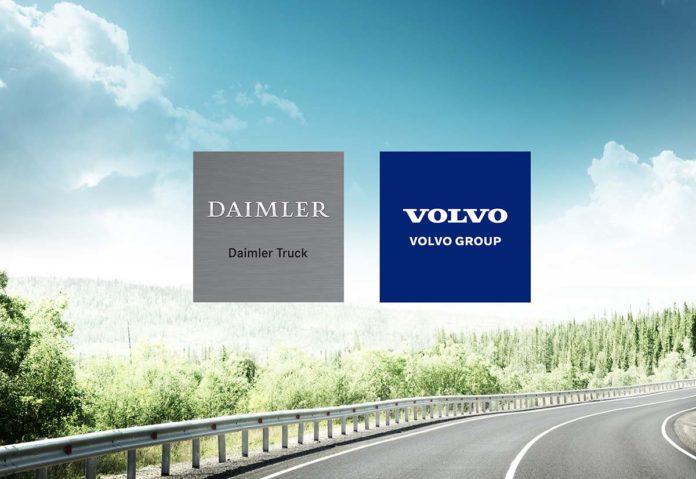 Volvo e Daimler Truck: joint venture per la produzione di celle a combustibile