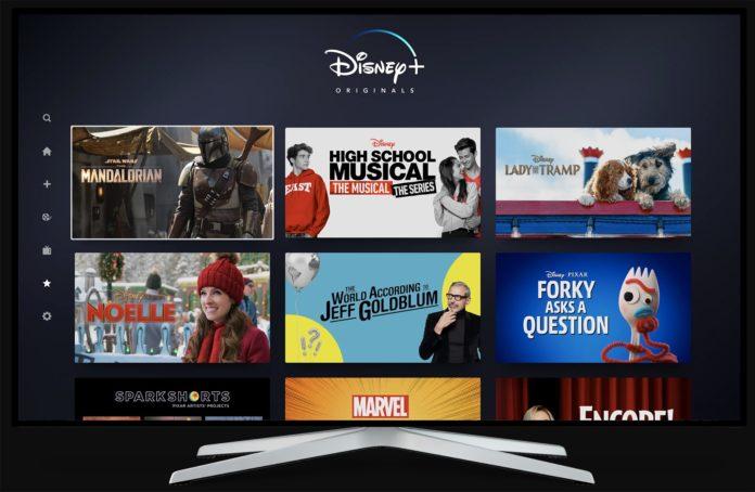 Disney+ approda anche sui TV Sony BRAVIA con Android TV